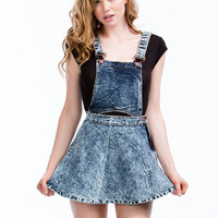 2-In-1 Acid Wash Skirtalls
