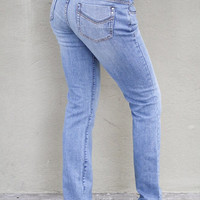 Light Denim Skinny Jeans (Size 5, 7, 9)
