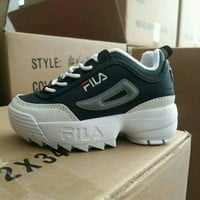 FILA Girls Boys shoes Children boots Baby Sandle Toddler Kids Child Fashion Casual Sneakers Sport Shoes
