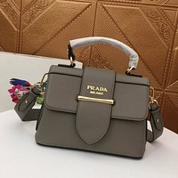 prada womens tote bag handbag shopping leather tote crossbody satchel 49
