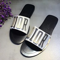 Dior Woman Fashion Slipper Sandals Shoes