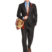 Polo I Striped Wool Suit