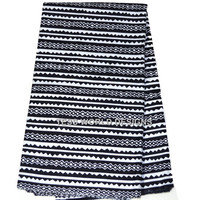 Black and White Tribal Print / for African Clothing / Afrcan fashion  / African Textile Fabric / Sold per Yard TP20B
