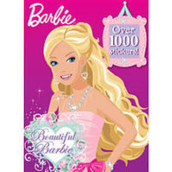 Barbie's Beautiful Sticker Book