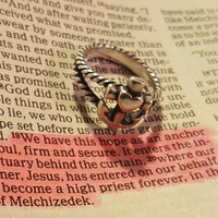 Faith, Hope & Love Twisted Rope Ring | James Avery