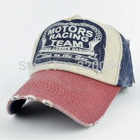 Free shipping,1pcs,2013 fashion  spring baseball cap, cotton motorcycle cap edge grinding do old men and women hat, multicolor