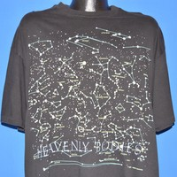 90s Heavenly Bodies Glow In The Dark t-shirt Extra Large