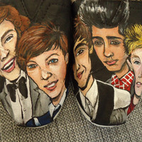 One Direction TOMS by LamaLand on Etsy