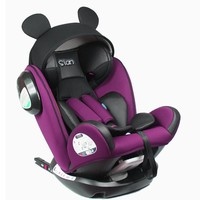 Isofix Interface Child Car Safety Seat 0-12 Years ECE 3C Convertible Baby Infant Car Booster Seat Safety Five-point Harness 0~12