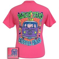 Girlie Girl Originals Preppy Beach Tans & Hippie Vans T-Shirt