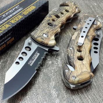 Tactical Camo Hunting Knife