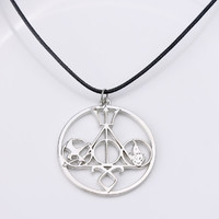 Fashion Movie Necklace Mix The Mortal Instruments Hunger Games HARRY POTTER Divergent Percy Jackson For Collection Alloy Jewelry
