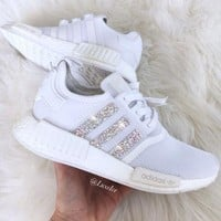 Adidas NMD Fashion Glittering Breathable Running Sports Shoes Sneakers-1