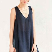 Silence + Noise High Slit Tunic Top