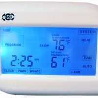 ICS TS830 Wireless Thermostat for AC & Heating systems