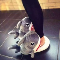 Shark Plush Slippers from Apollo Box