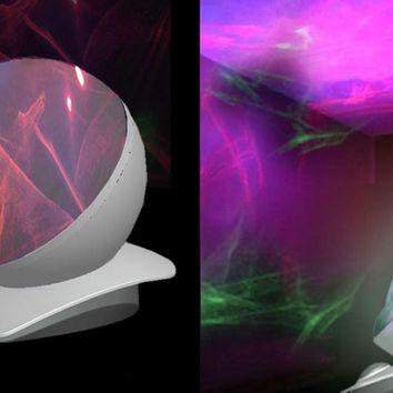 Creative Motion Laser Sphere Table Lamp