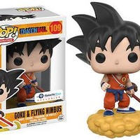 Funko Pop Dragon Ball - Goku and Flying Nimbus Orange Suit Exclusive xyz