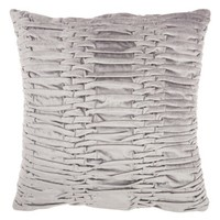 Mina Victory Pleated Velvet Accent Pillow | Nordstrom