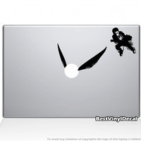 Harry Potter vinyl decal for macbook or ipad by BestVinylDecal