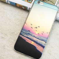 Beach Holiday Sunset Cool Case for iPhone