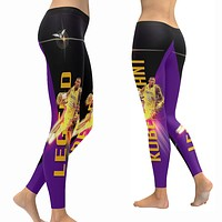 Kobe Bryant Leggings|Legend Tights|Lakers 24 Yoga Pants