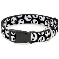 Chenier Buckle-Down Nightmare Before Christmas Jack Expressions Pet Collar