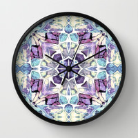 Pastel Colored Dream Wall Clock by ArtLovePassion