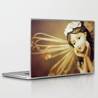 Daydreamer - Vintage Angel Laptop & iPad Skin by Legends Of Darkness Photography