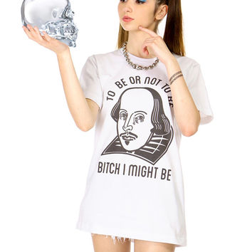 TO BE OR NOT TO BE TEE