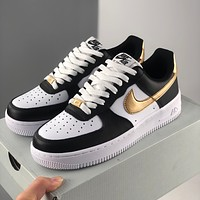 Nike air force 1 Fashion middle upper low upper female leisure board shoes
