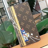 LV Louis Vuitton New fashion monogram leather couple wallet purse handbag