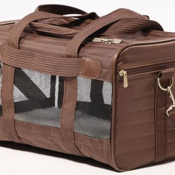 Sherpa The Original Deluxe Pet Carrier Sz: Med Brown
