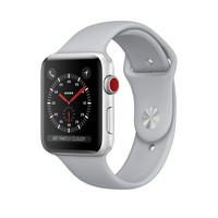 Apple Watch Silver Aluminum Case with Fog Sport Band - Series 3 GPS