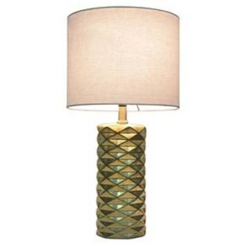 Faceted Ceramic Accent Table Lamp - Room Essentials™