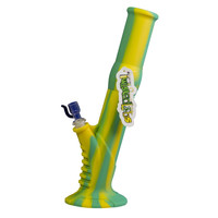 Twisted Labs Teal & Yellow Silicone Water Pipe