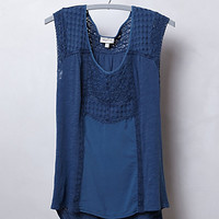 Pieced Lace Top