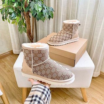 UGG GUCCI 2020 branded short boots