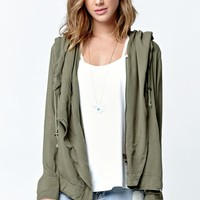 Billabong On The Horizon Jacket - Womens Jacket - Green