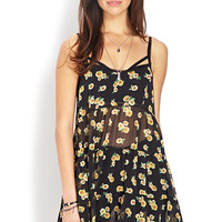 Sunflower Daze Smock Dress