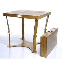 Spiderlegs CP3042-LC Hand Crafted & Custom Finished Picnic Folding Table in Light Cherry