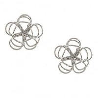 Floral Wire Studs