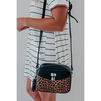 Sneaking Out Purse: Black/Multi
