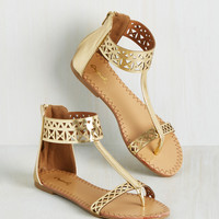 Notoriously Noticeable Sandal | Mod Retro Vintage Sandals | ModCloth.com