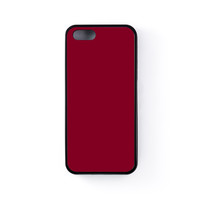 Burgundy Black Silicon Rubber Case for iPhone 5/5s by Armadillo Cases