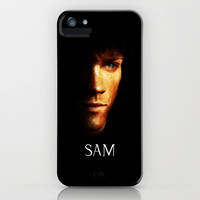 Sam Winchester / Supernatural - Painting Style iPhone Case by ElvisTR | Society6