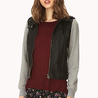 Underground Faux Leather Jacket