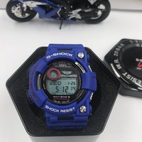 KUYOU C016 Casio G Shock GWF-1000 Plastic Straap Frogmman Resist Fashion Electronic Watches Blue Red