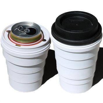 Trinken Lid and Collapsible Cup Combo