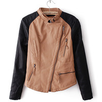 Black & Tan Moto Jacket
